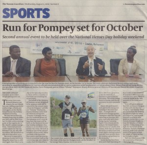 2016.08.03 - Guardian, Run for Pompey Set for October
